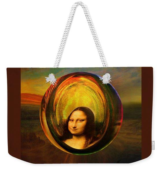 Mona Lisa Circondata Weekender Tote Bag