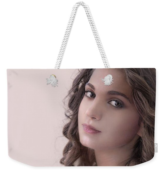 Mona Lisa Smile Weekender Tote Bag