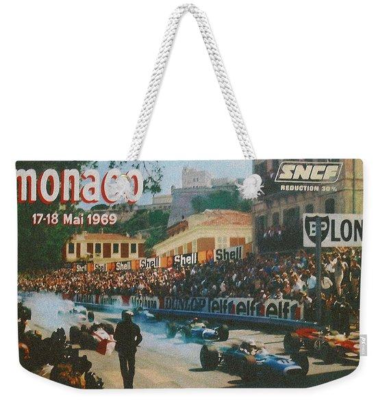 Monaco 1969 Weekender Tote Bag