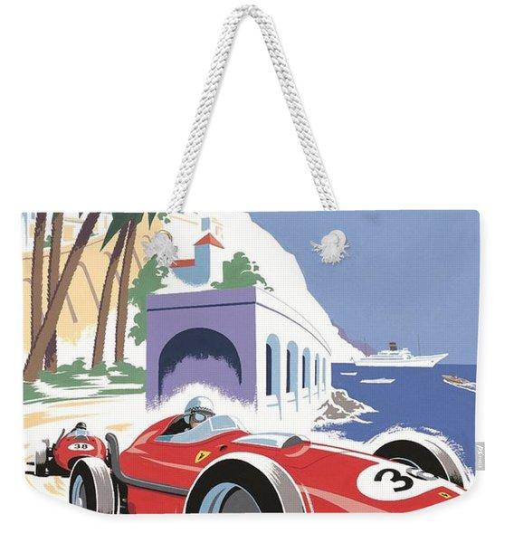 Monaco Grand Prix 1958 Weekender Tote Bag