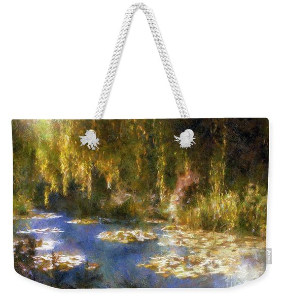 Monet After Midnight Weekender Tote Bag