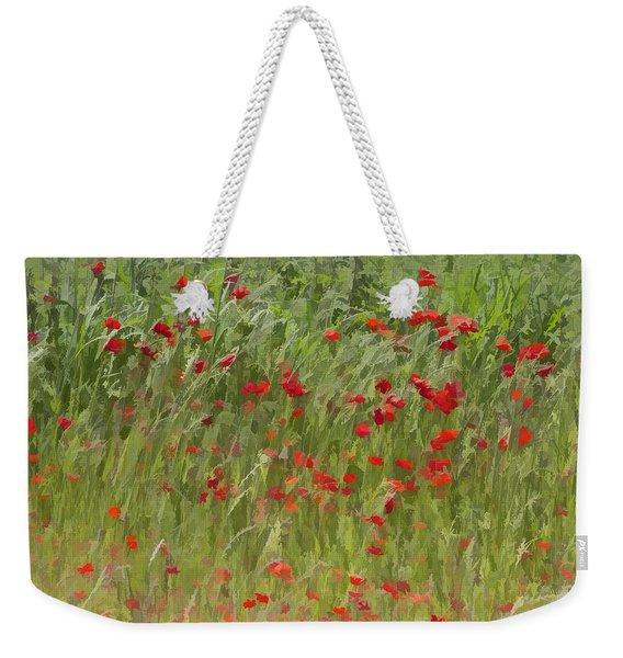 Monet Poppies IIi Weekender Tote Bag
