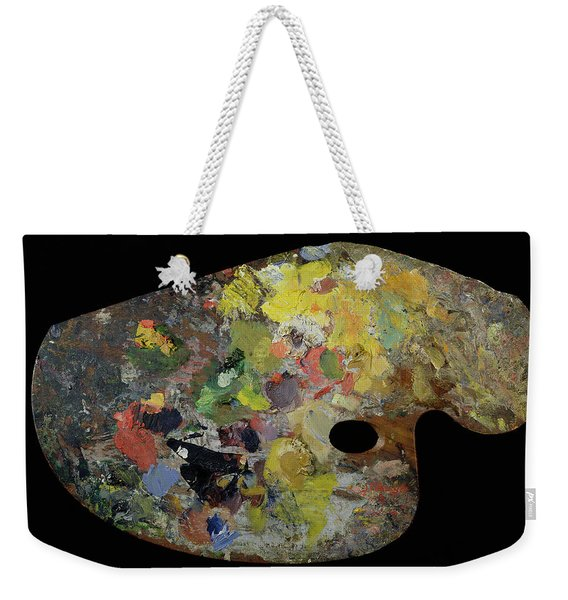 Palette Belonging To Claude Monet Weekender Tote Bag
