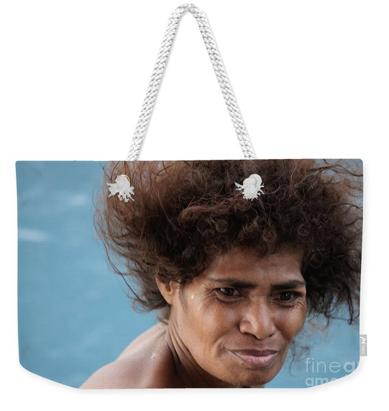 Monica From Papua New Guinea Weekender Tote Bag