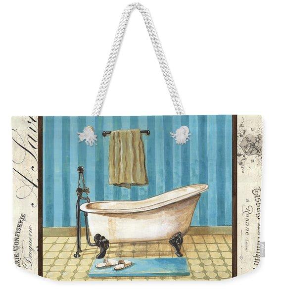 Monique Bath 1 Weekender Tote Bag
