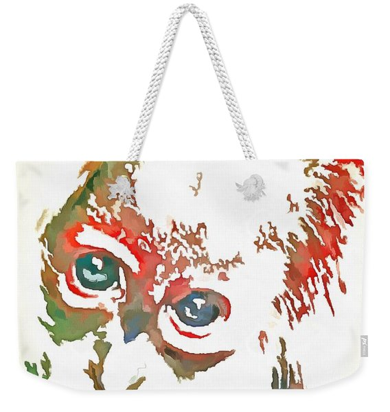 Monkey Pop Art Weekender Tote Bag