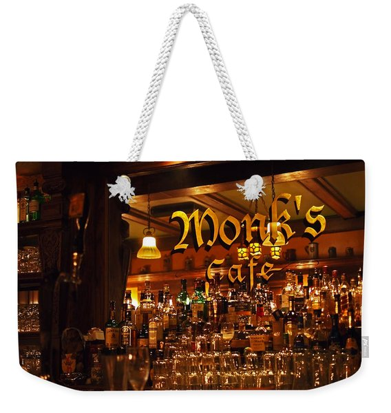 Monks Cafe Weekender Tote Bag