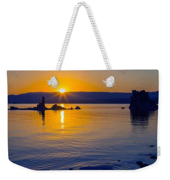Mono Lake Sunrise Weekender Tote Bag