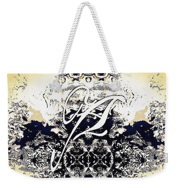Monogram A - 0 - 11 Weekender Tote Bag