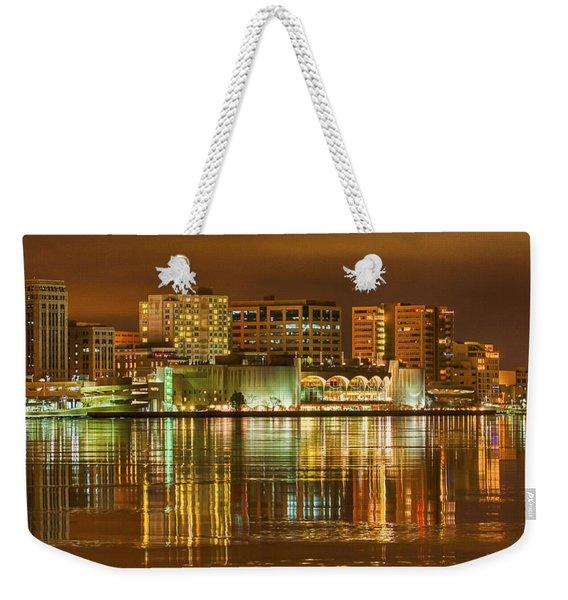 Monona Terrace Madison Wisconsin Weekender Tote Bag