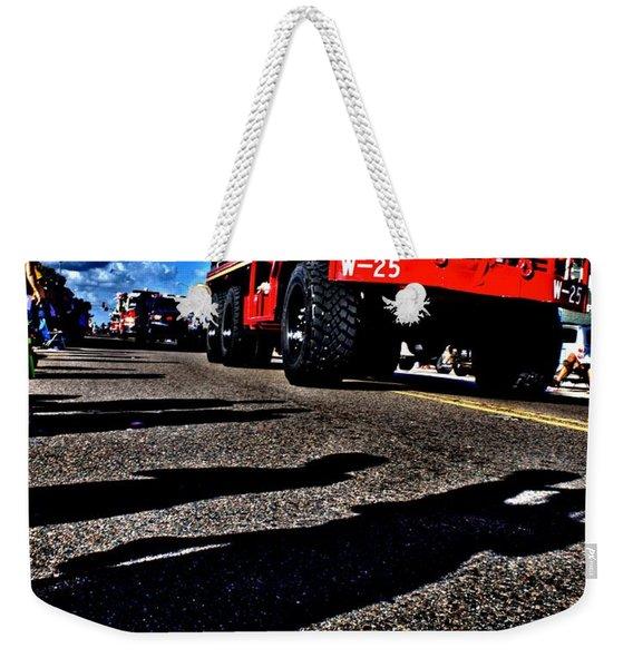 Monster Truck Weekender Tote Bag