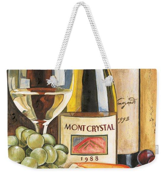 Mont Crystal 1988 Weekender Tote Bag