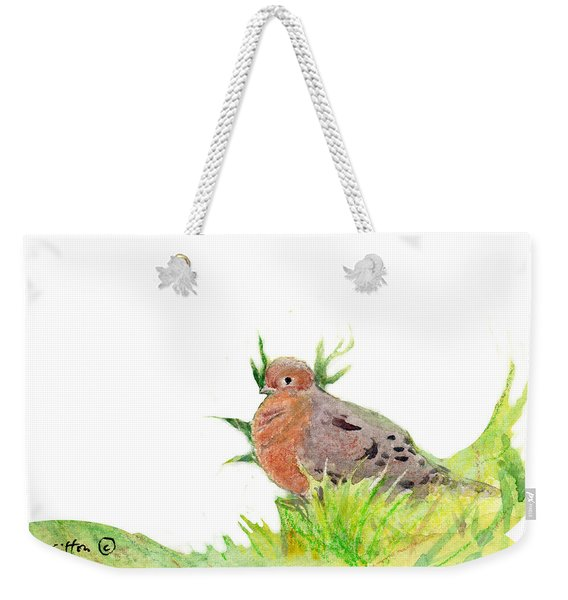 Montana Dove Weekender Tote Bag