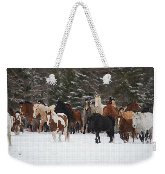 Montana Herd Weekender Tote Bag