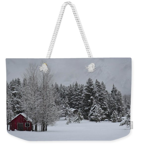 Montana Morning Weekender Tote Bag