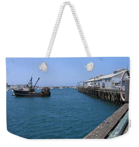 Monterey Municipal Wharf Weekender Tote Bag