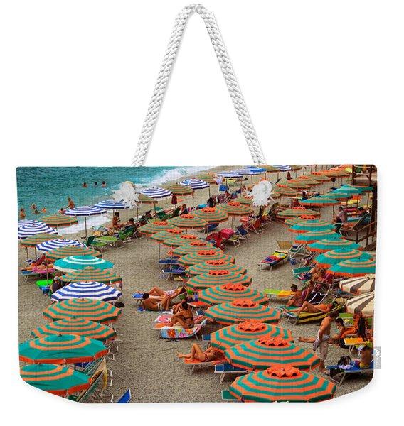 Monterosso Beach Weekender Tote Bag