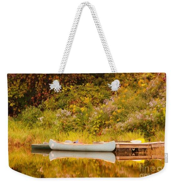 Montpelier Canoe Weekender Tote Bag
