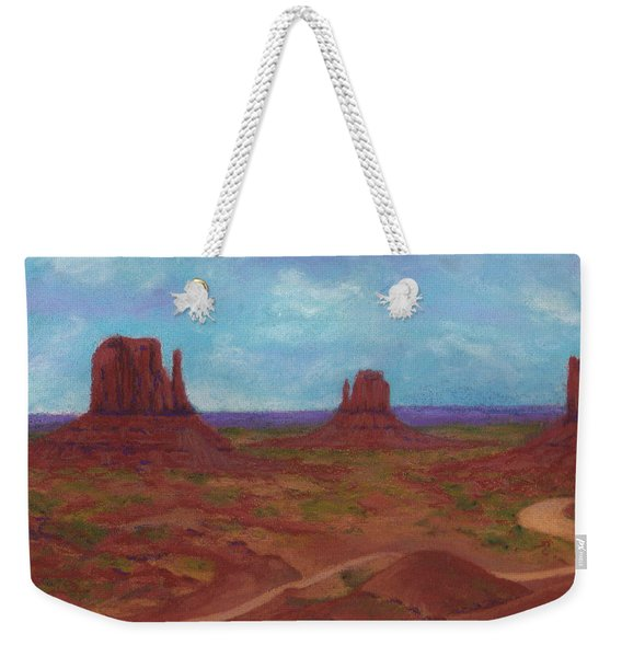 Monument Valley Weekender Tote Bag