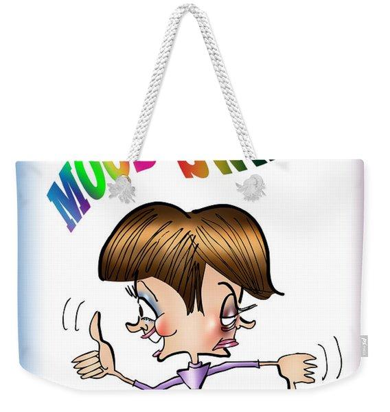 Mood Swings Weekender Tote Bag