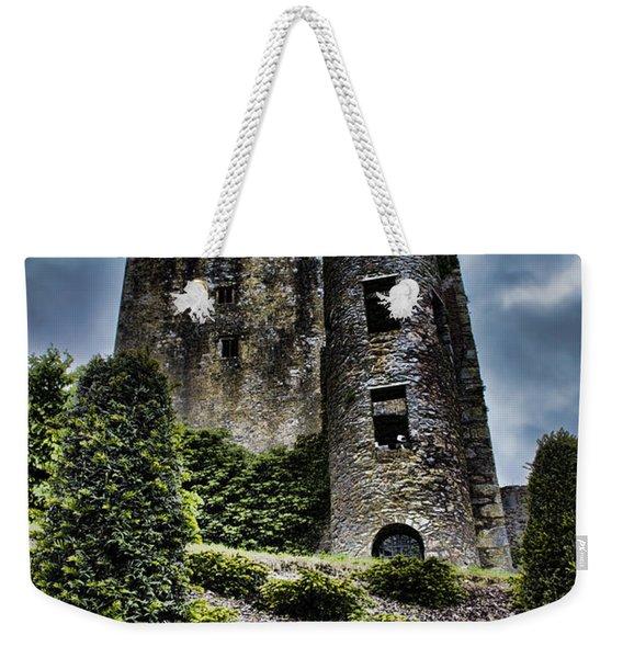 Moody Castle Weekender Tote Bag