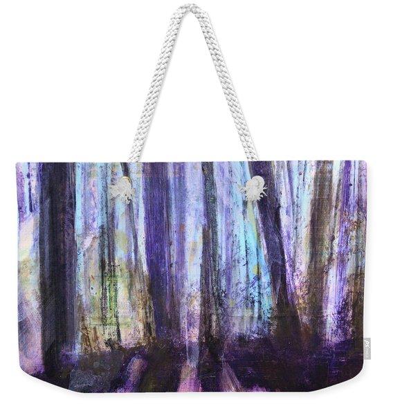 Moody Woods Weekender Tote Bag