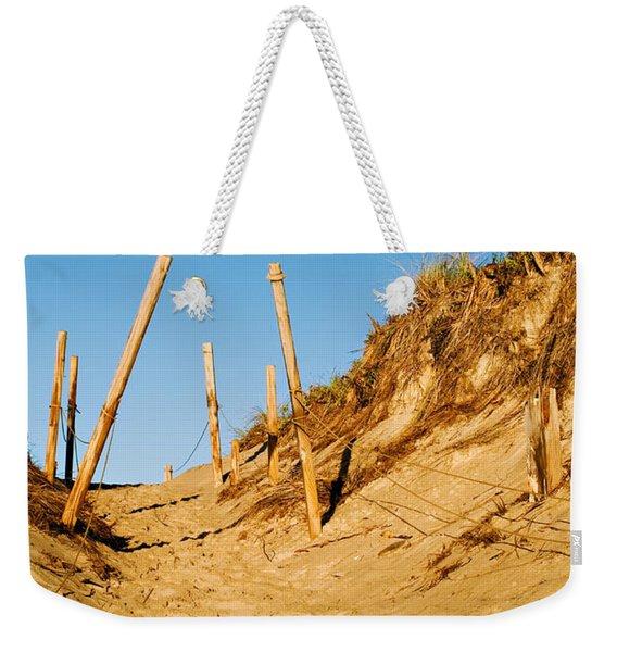 Moon And Dunes Weekender Tote Bag