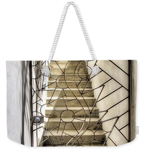 Moon And Gate Weekender Tote Bag