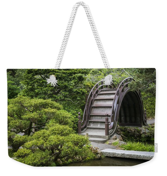 Moon Bridge - Japanese Tea Garden Weekender Tote Bag