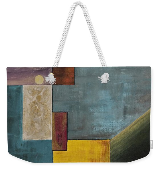 Moon Goddess Weekender Tote Bag