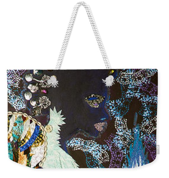 Moon Guardian - The Keeper Of The Universe Weekender Tote Bag
