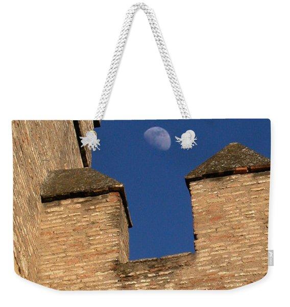 Moon Over Alcazar Weekender Tote Bag