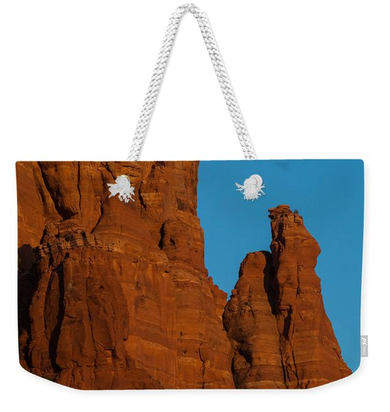 Moon Over Chicken Point Weekender Tote Bag