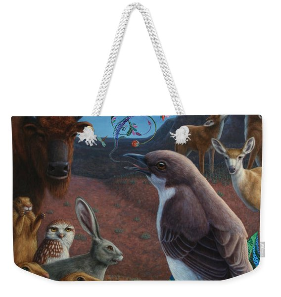 Moonlight Cantata Weekender Tote Bag