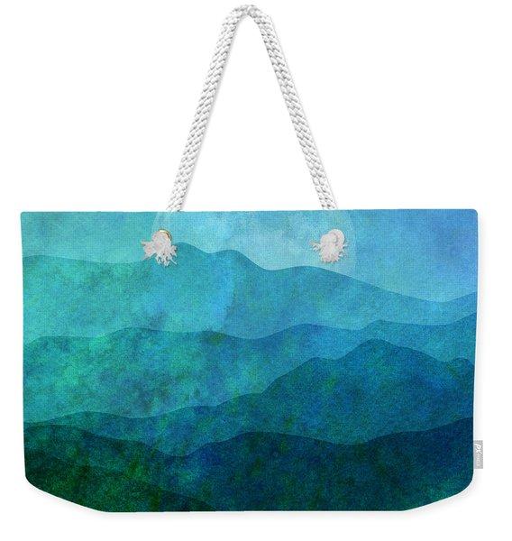 Moonlight Hills Weekender Tote Bag