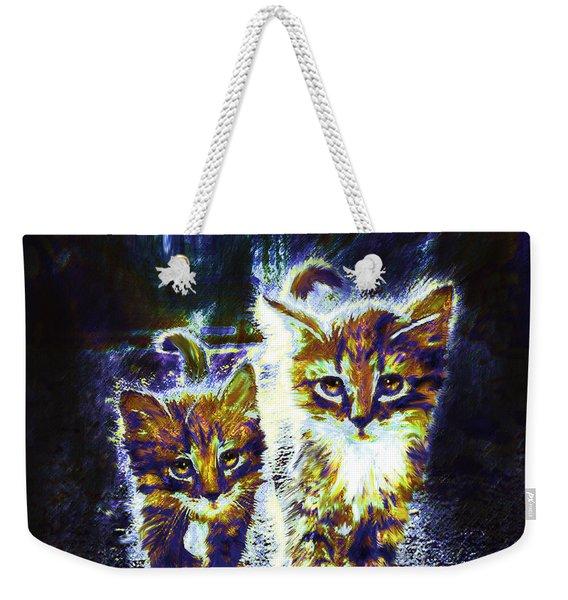 Moonlight Travelers Weekender Tote Bag