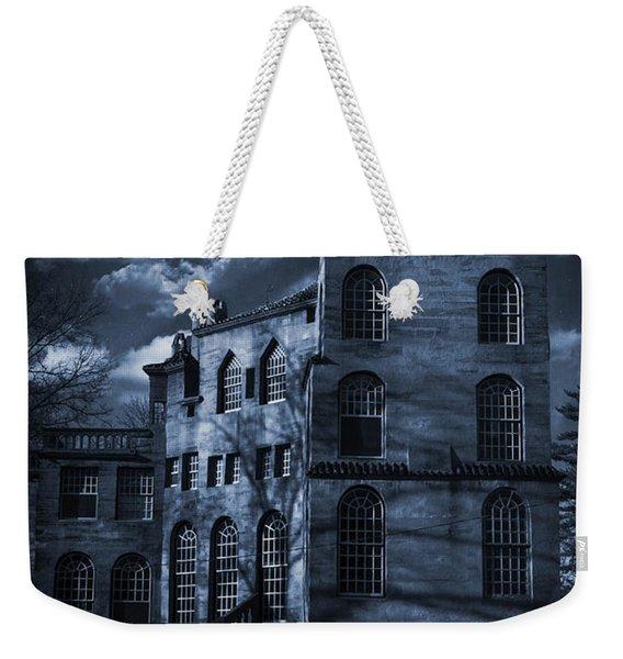 Moonlit Fonthill Weekender Tote Bag