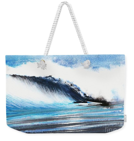 Moonlit Ocean Weekender Tote Bag