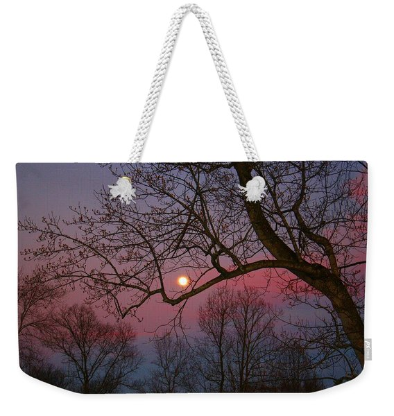 Moonrise Weekender Tote Bag