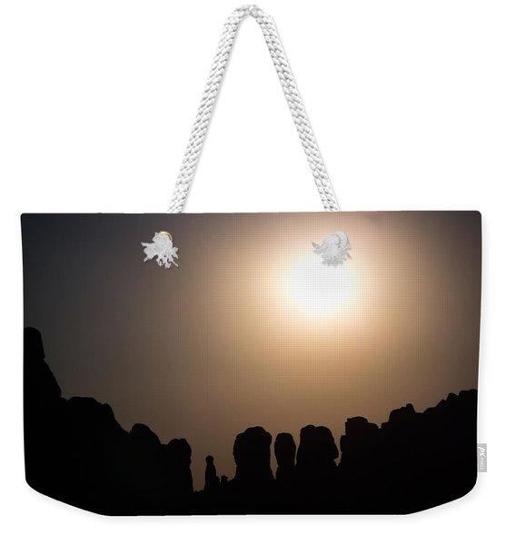 Moonrise Over Eden Weekender Tote Bag