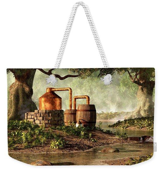 Moonshine Still 1 Weekender Tote Bag