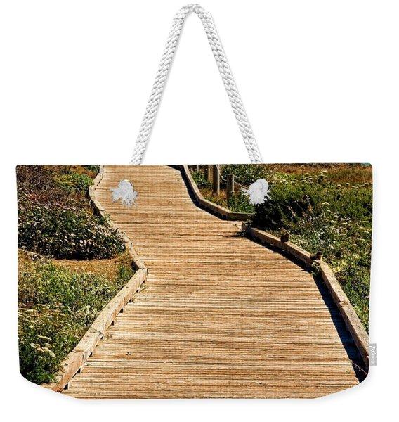 Moonstone Beach Park By Diana Sainz Weekender Tote Bag