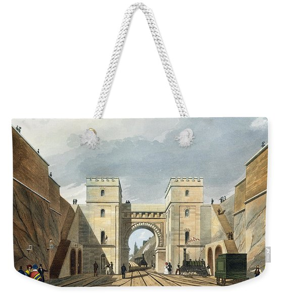 Moorish Arch, Looking From The Tunnel Weekender Tote Bag