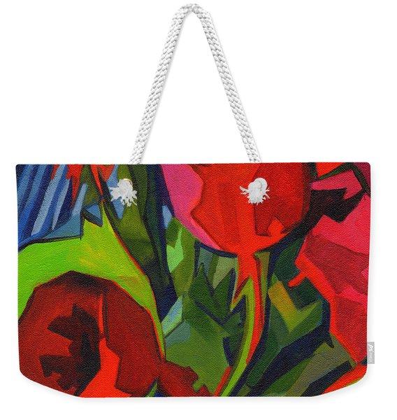 More Red Tulips  Weekender Tote Bag
