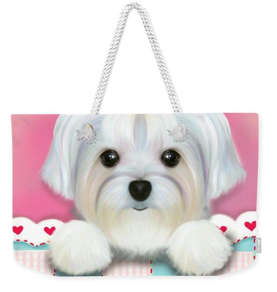 Morkie Shelly Weekender Tote Bag