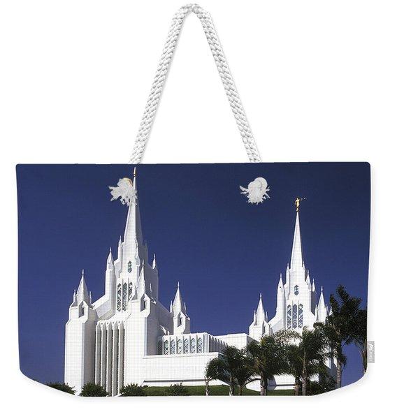 Mormon Temple Weekender Tote Bag