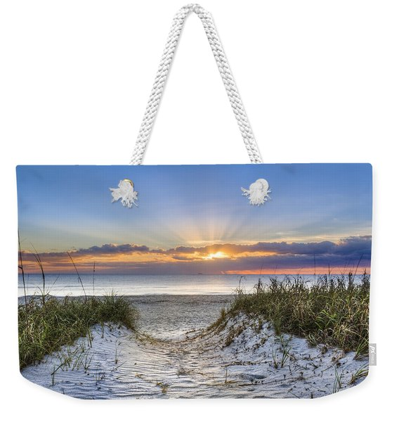 Morning Blessing Weekender Tote Bag