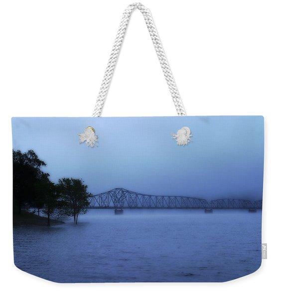 Morning Blues  Weekender Tote Bag