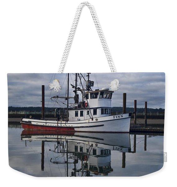 Morning Calm Newport Oregon Weekender Tote Bag