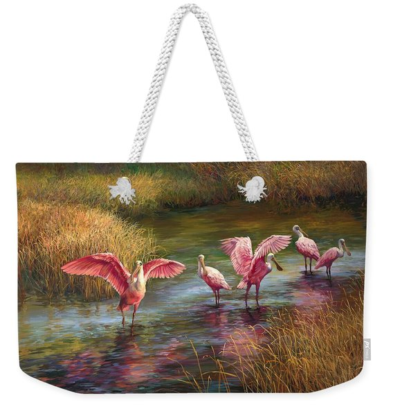 Morning Dance Weekender Tote Bag